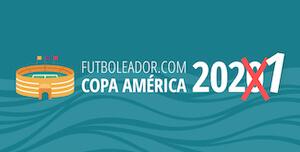 La Copa América 2021 (2020) aplazada