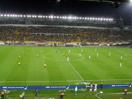 """El Estadio Nemesio Camacho """"El Campín"""" en Bogotá para la Copa América 2021"""