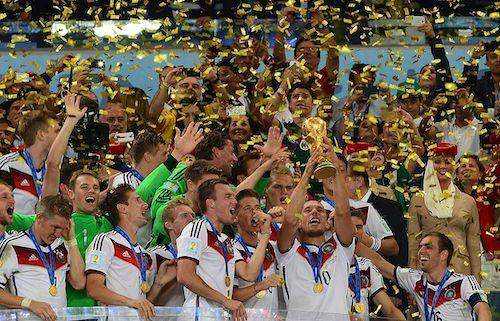 Alemania, una de las favoritas en Qatar ganó la Copa del Mundo de 2014