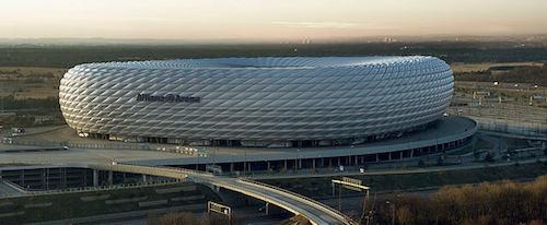Múnich es la sede de la Eurocopa 2021 - Allianz Arena