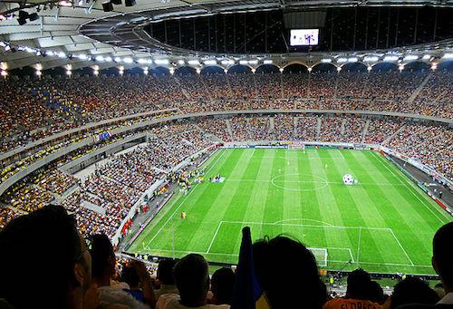 Sede de la Eurocopa 2021 - La Arena Nationala en Bucarest