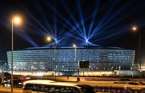 Sede de la EURO 2020: Estadio Nacional de Bakú en Azerbaiyán