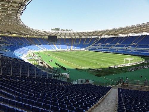 El Estadio Olímpico de Roma es la sede de la Eurocopa 2021
