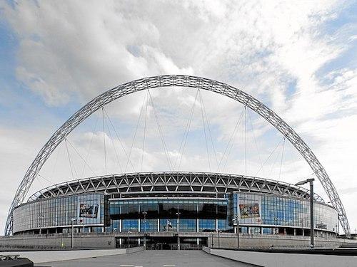 La sede de la Eurocopa 2021: el Estadio Wembley en Londres, Inglaterra