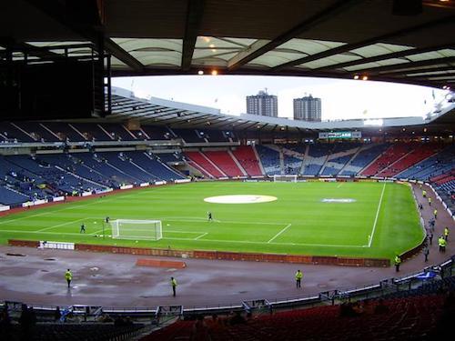 El Hampden Park en Glasgow es la sede de la Eurocopa 2021