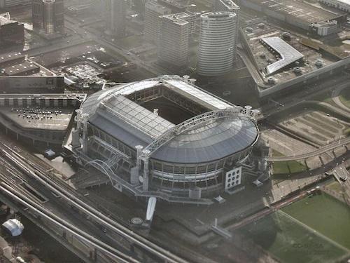 La Johan-Cruyff-Arena en Amsterdam es la sede de la Eurocopa 2021