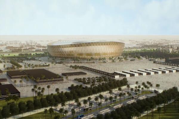 El Estadio Lusail es la sede de la Copa Mundial en Qatar 2022