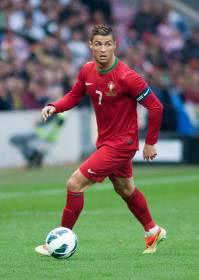 Cristiano Ronaldo en la Eurocopa