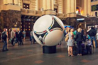 Tango 12, Balón de la Eurocopa 2012.