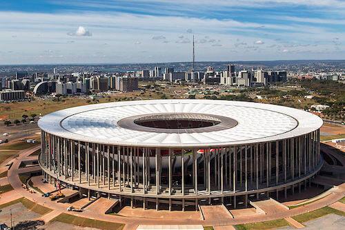 Estadio Mané Garrinchia Brasilia Sede de la Copa América 2021
