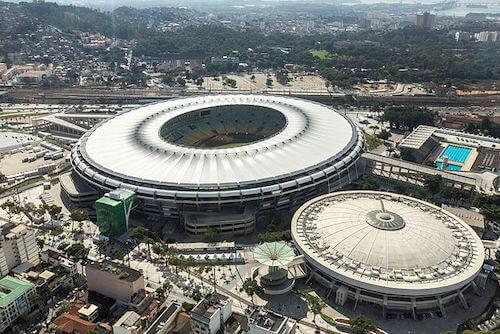 Estadio Maracaná en Río de Janeiro Sede de la Copa América 2021