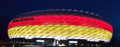 Allianz Arena Munich sede Eurocopa 2024