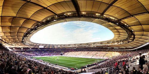 Mercedes-Benz Arena en Stuttgart Eurocopa 2024
