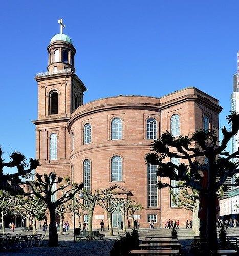 Paulskirche en Frankfurt sede de la Eurocopa 2024
