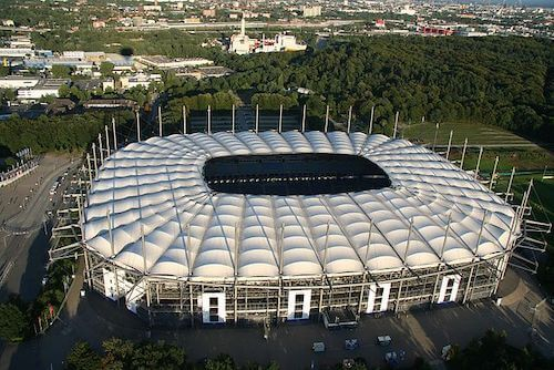 Volksparkstadion en Hamburgo Sede Eurocopa-2024